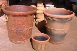 Desert Container garden pots Mexican Clay